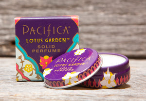 Pacifica Lotus Garden Solid Perfume by Pacifca
