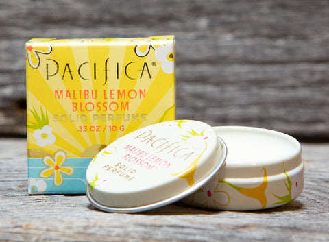 Pacifica Malibu Lemon Blossom Solid Perfume by Pacifica