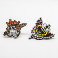 BUTTERFLY DAGGER / NO KINGS PIN PACK