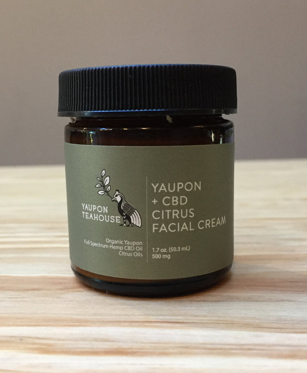 Yaupon + CBD Facial Cream