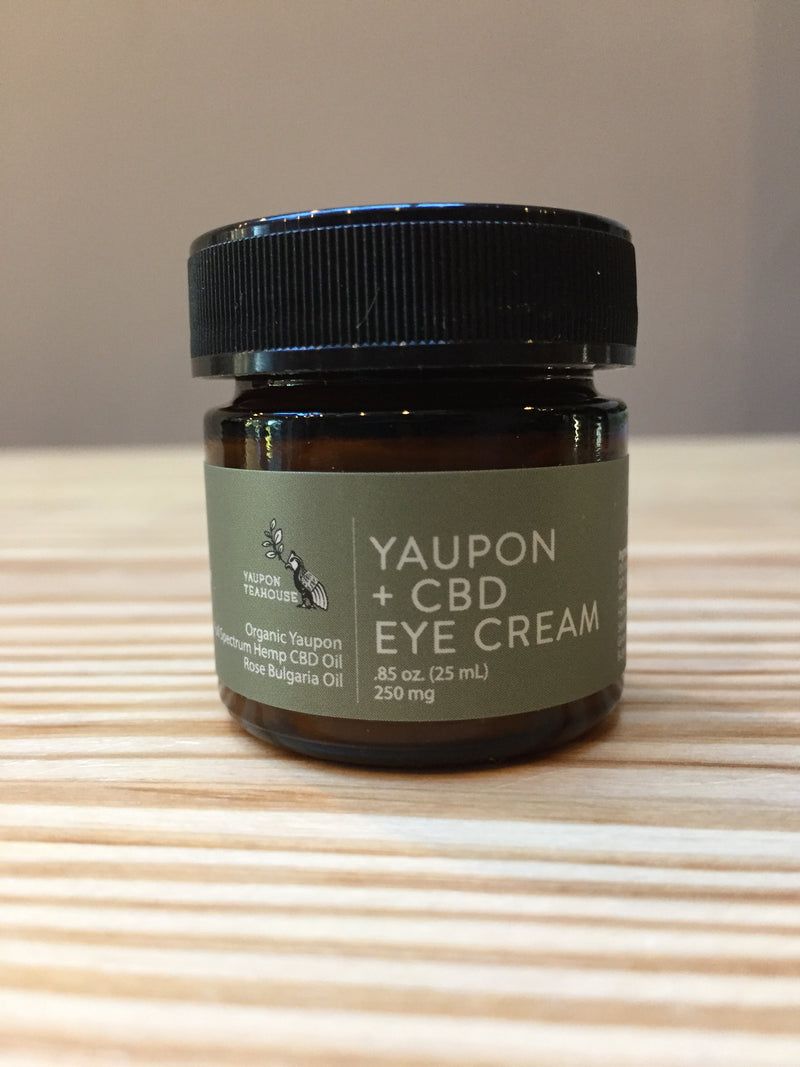 Yaupon + CBD Eye Cream .85oz