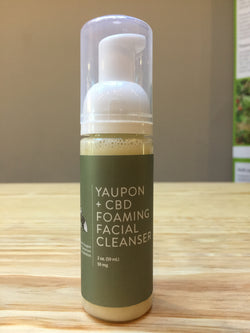 Yaupon + CBD Foaming Facial Cleanser 2oz