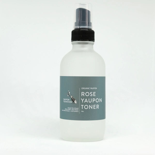 Yaupon Rose Toner 4oz - Yaupon Tea + Wellness Co.