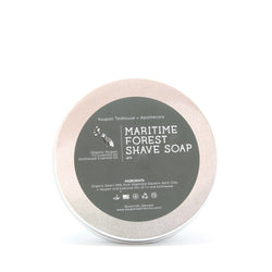 Maritime Forest Shave Soap 4oz - Yaupon Tea + Wellness Co.