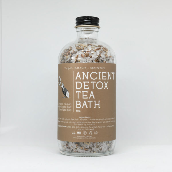 Ancient Detox Tea Bath 8 oz - Yaupon Tea + Wellness Co.