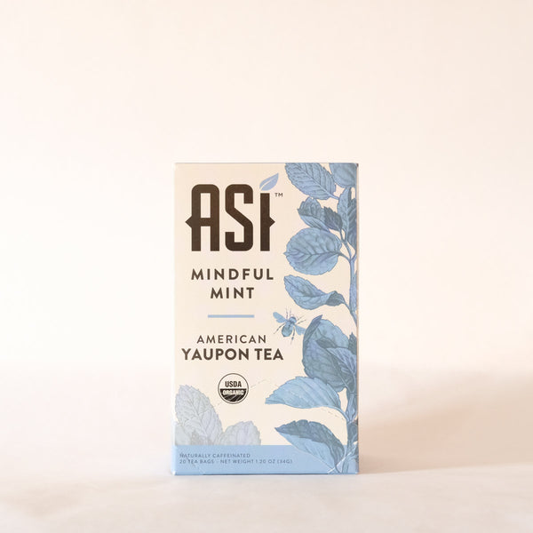 ASI Mindful Mint Tea 20 bags - Yaupon Tea + Wellness Co.