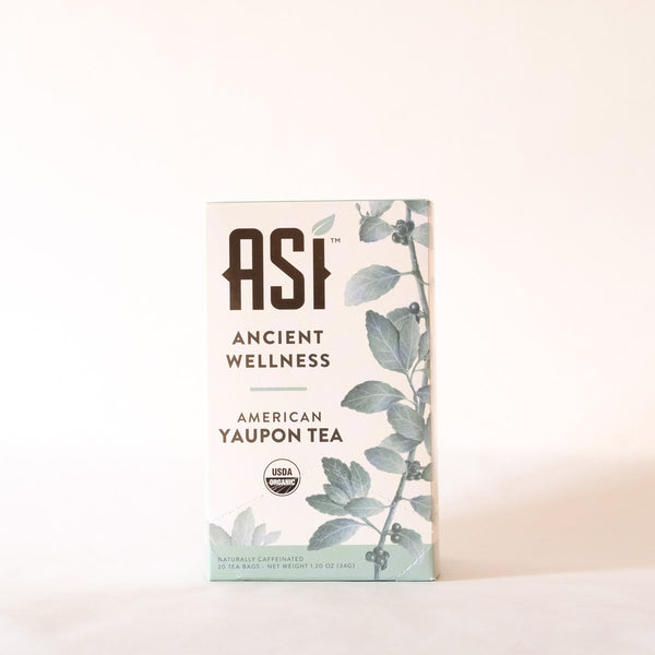 ASI Ancient Wellness Tea Ingredients - Yaupon Tea + Wellness Co.