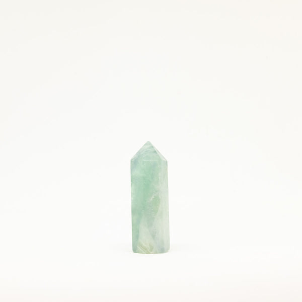 Green Fluorite Tower - Yaupon Tea + Wellness Co.
