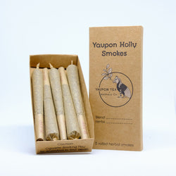 Yaupon + CBD Herbal Smokes: Peacepipe