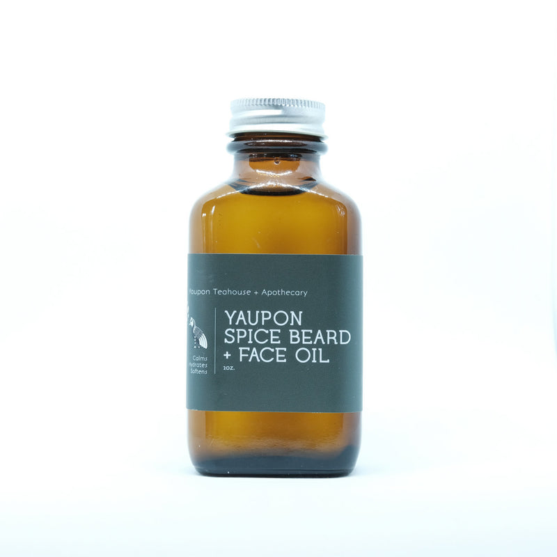 Yaupon Spice Beard + Face Oil 2oz - Yaupon Tea + Wellness Co.