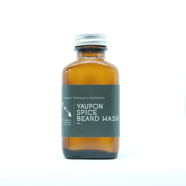 Yaupon Spice Beard Wash 2oz - Yaupon Tea + Wellness Co.