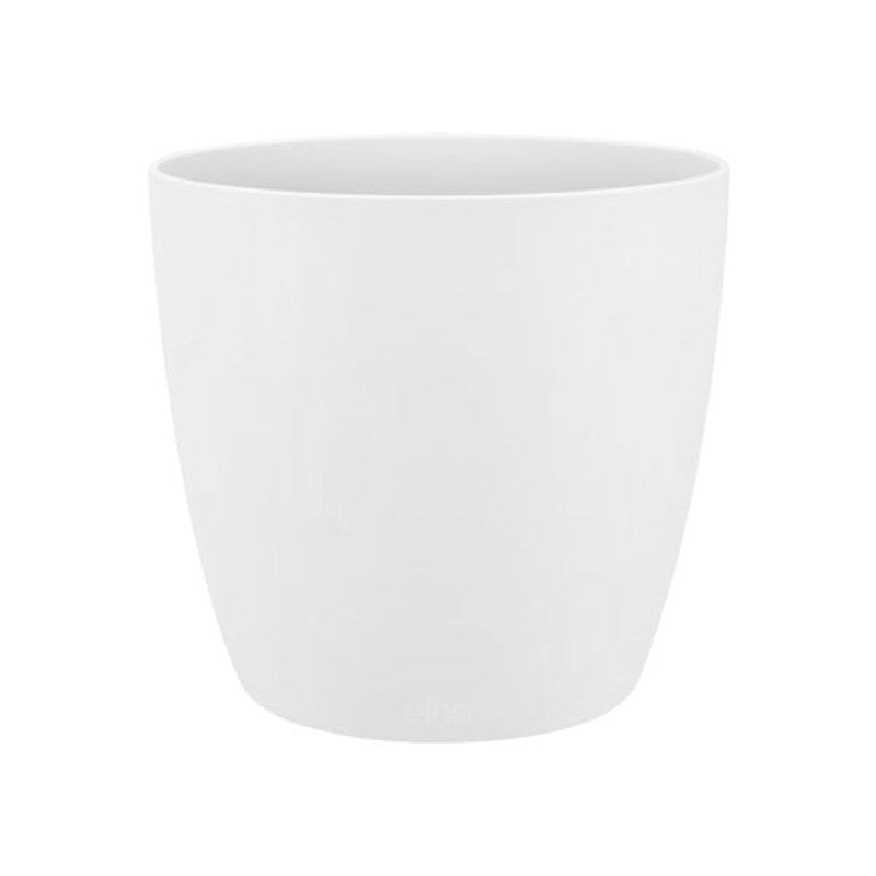 Elho Brussels Round Pot White 14cm
