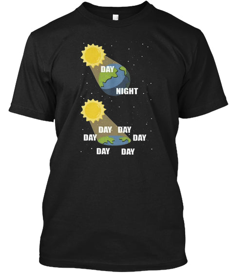 Day night day day day flat earth science - femerch