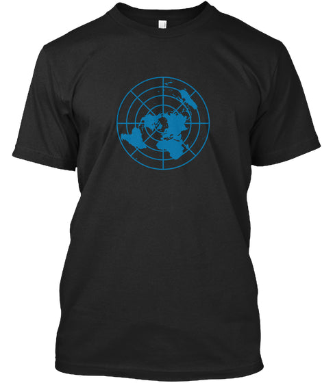 Flat Earth Logo - femerch