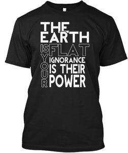 Flat Earther / Flache Erde / Flat Earth - femerch