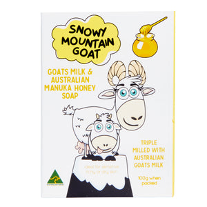 Snowy Mountain Goat - Soap 100g