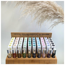 Load image into Gallery viewer, Summer Salt Body - Crystal Healing Essential Oil Rollers