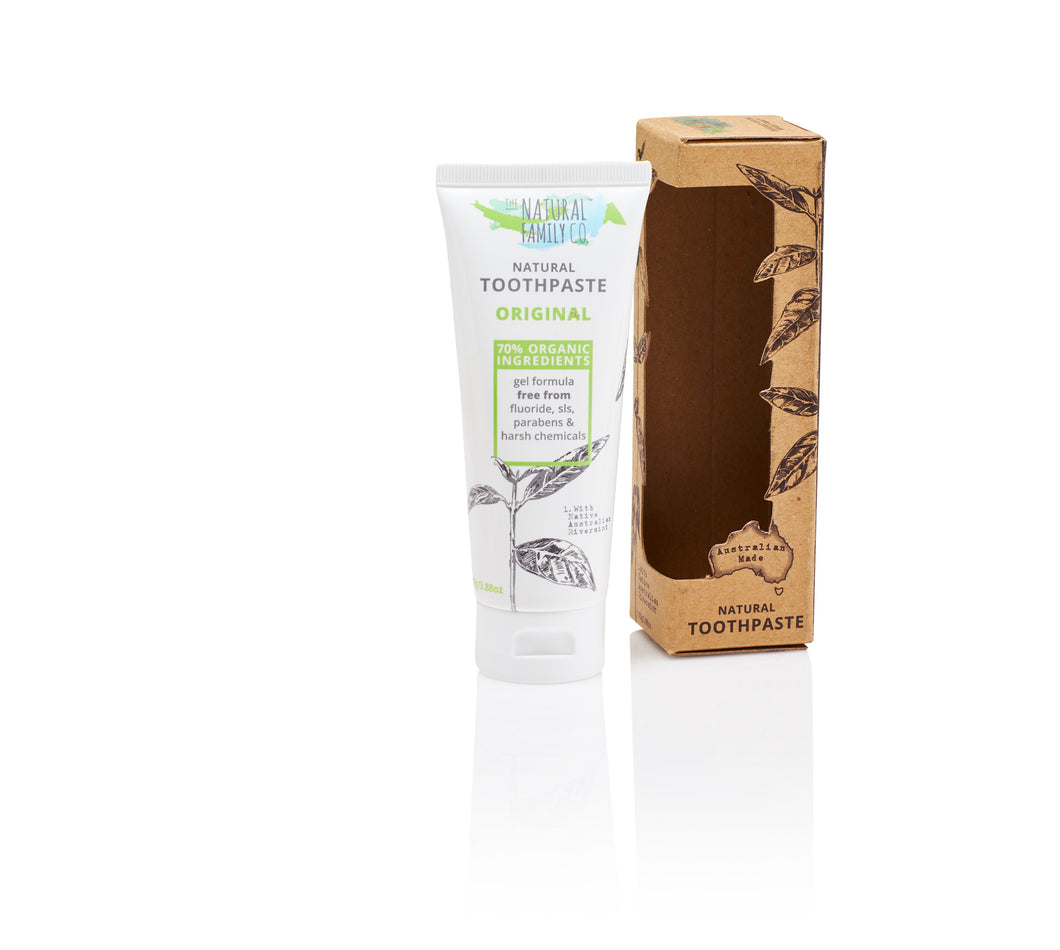 The Natural Family Co. - Original Natural Toothpaste 100g