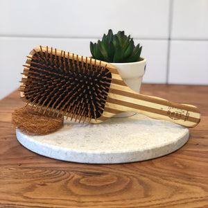 Bass - Bamboo Large Paddle Brush