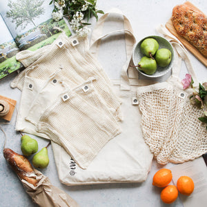 Ever Eco - Organic Cotton Zero Waste Shopping Set