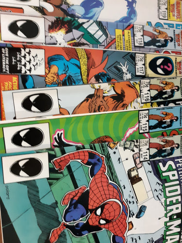 Peter Parker The Spectacular Spider-Man #114-124