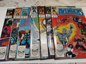 The Avengers 290-295, 299 Ungraded Lot