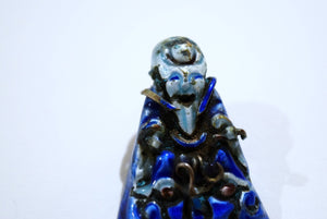 Eight Immortals: Repousse Qing Enamel Amalgam Silver Ornament Collection