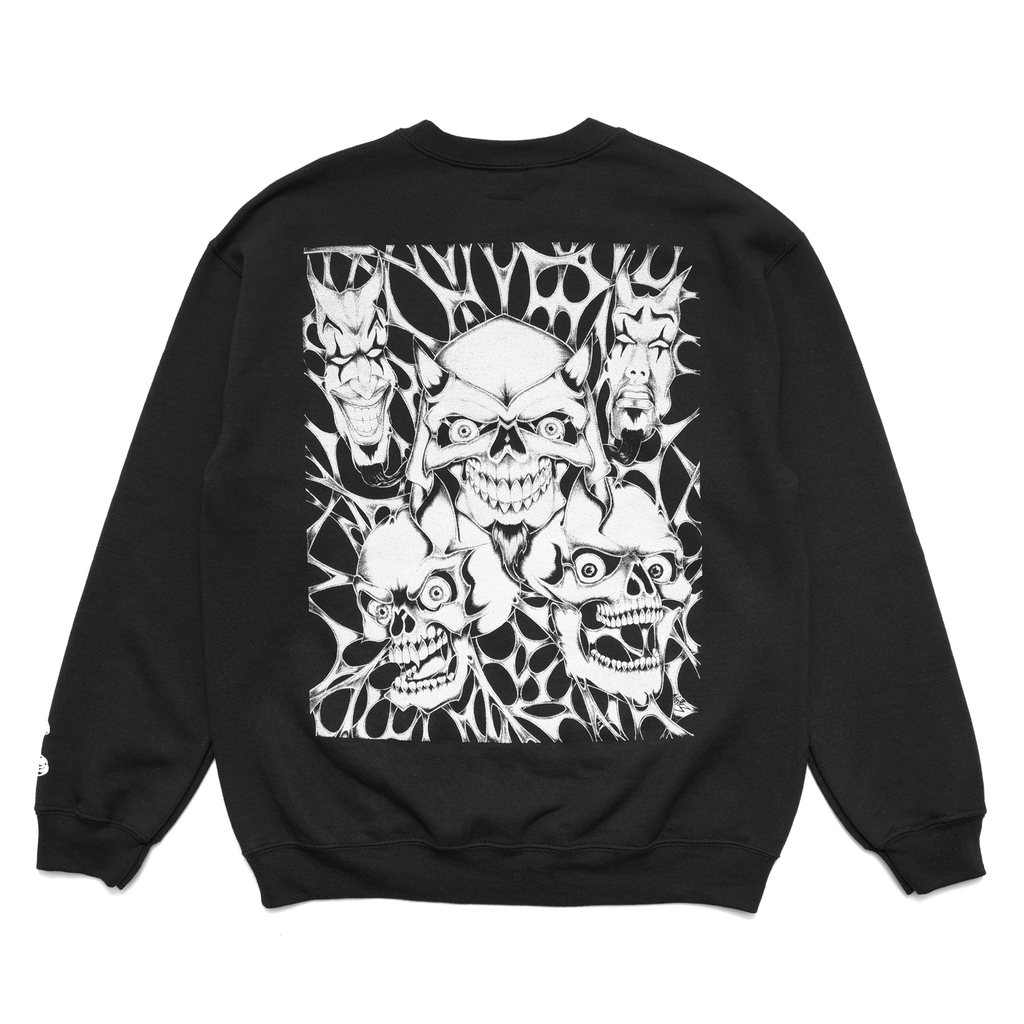 "Black ""Hell"" Crewneck"