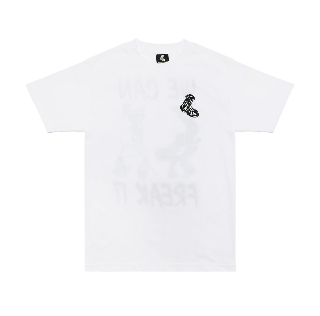 "White ""Freak It"" Tee"