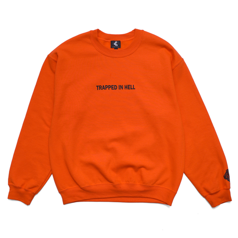 "Orange ""Hell"" Crewneck"