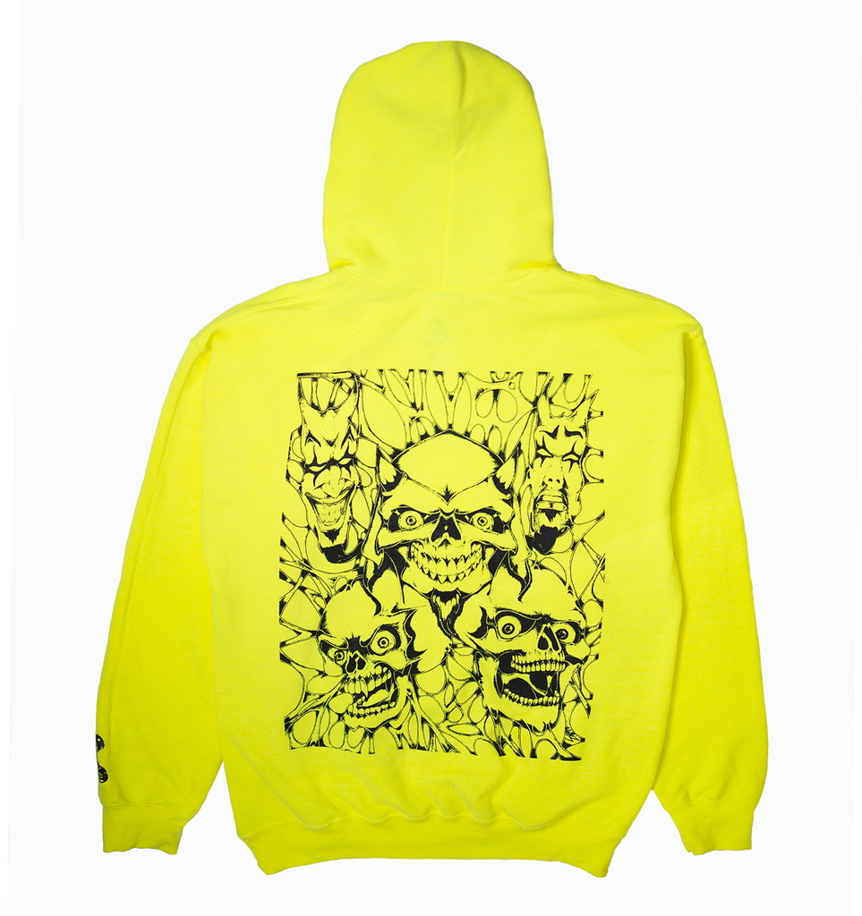 "Safety Green ""Hell"" Hoodie"