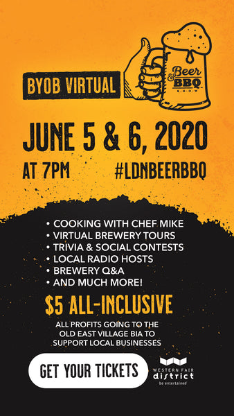 London Beer & BBQ Virtual Event | BEER TIE