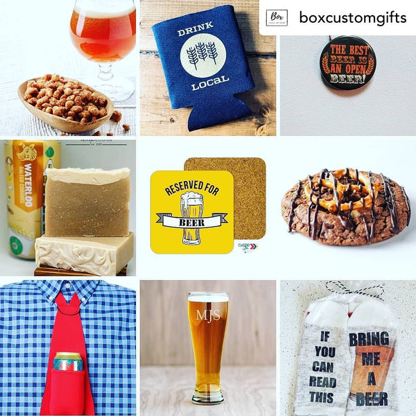 Box Custom Gifts | BEER TIE