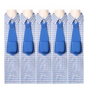 BLUE PARTY PACK - Drink Koozie Beer Tie Blue (Five Beer Ties) - Beer Tie