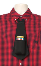Load image into Gallery viewer, Drink Koozie Beer Tie Black - Beer Tie