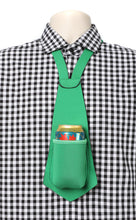 Load image into Gallery viewer, Drink Koozie Beer Tie Green - Beer Tie