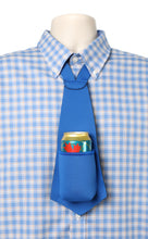 Load image into Gallery viewer, Drink Koozie Beer Tie Blue - Beer Tie