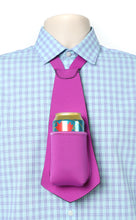 Load image into Gallery viewer, Drink Koozie Beer Tie Purple - Beer Tie
