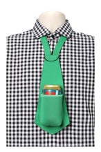 Load image into Gallery viewer, GREEN PARTY PACK - Drink Koozie Beer Tie Green (Five Beer Ties) - Beer Tie