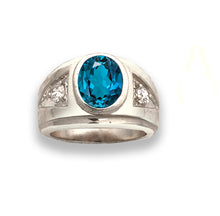 Load image into Gallery viewer, Men's Ring Mounting for FREE Gemstones