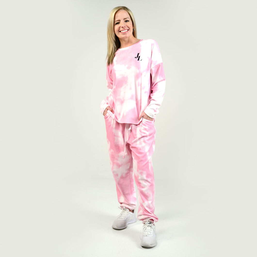 Super Softies Long Sleeve Shirt and Pant Set - Pink