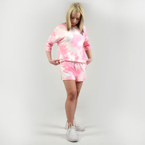 Super Softies Short Sleeve Shirt and Shorts Set - Pink