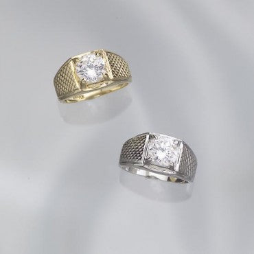 The Gentlemen's DiamondExcel Classic Ring