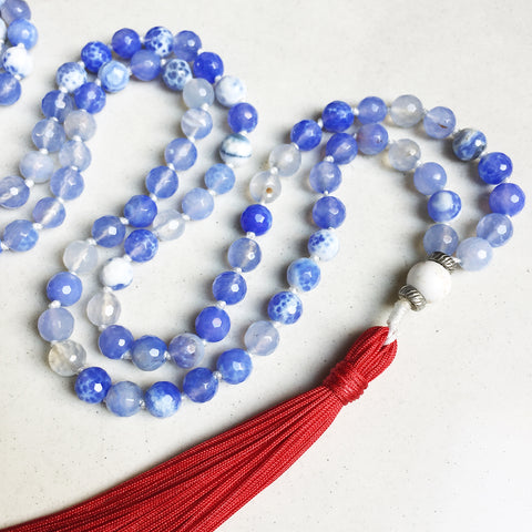 Hanuman Heart custom mala beads custom handmade beaded jewelry