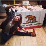 Hanuman Heart yoga at a food show