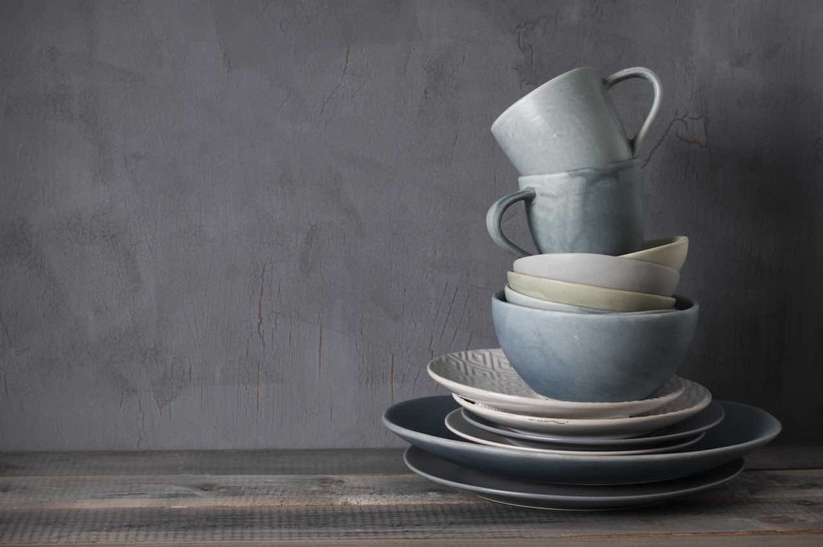 Materials and origins of our tableware