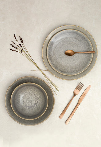 Dudson Granite Sandy  Bone and White