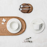 OCT White Collection - Juego de café