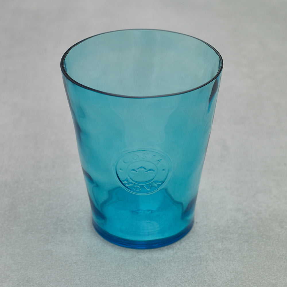 Vajillas Costa Nova Set 6 vasos Aqua Blue