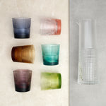Set 6 vasos + jarra Pikes Colours